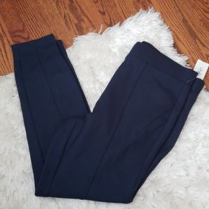 Style and co mid rise comfort waist navy leggings